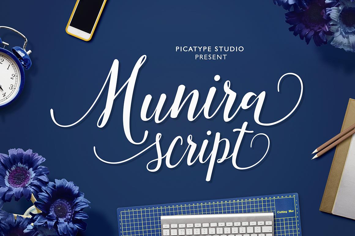 Munira Script example image 10