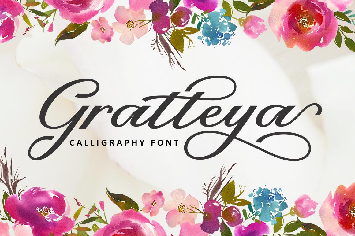 Gratteya Script example image 1