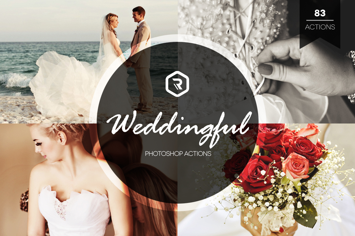 Weddingful Photoshop Actions example image 1