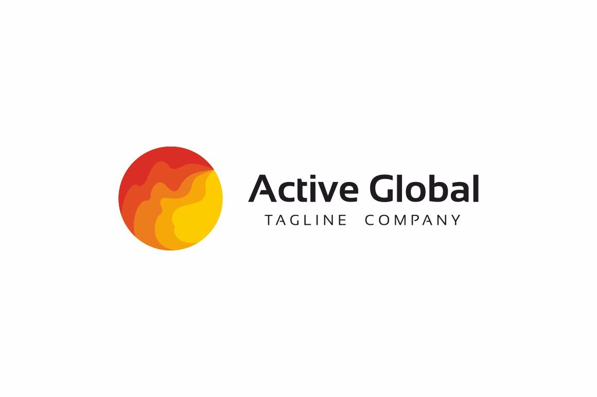 Active Global Logo example image 3