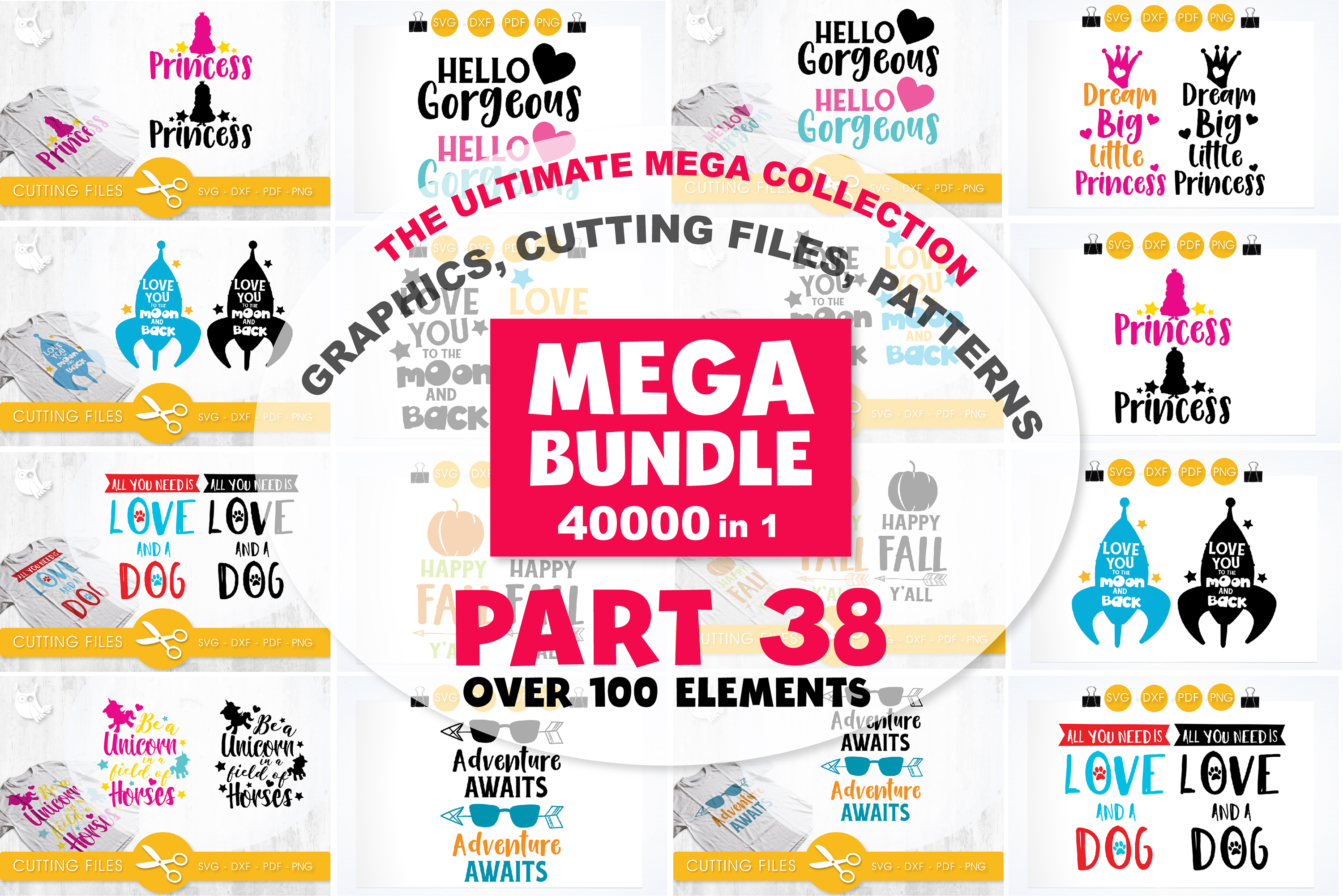 MEGA BUNDLE PART38 - 40000 in 1 Full Collection example image 1