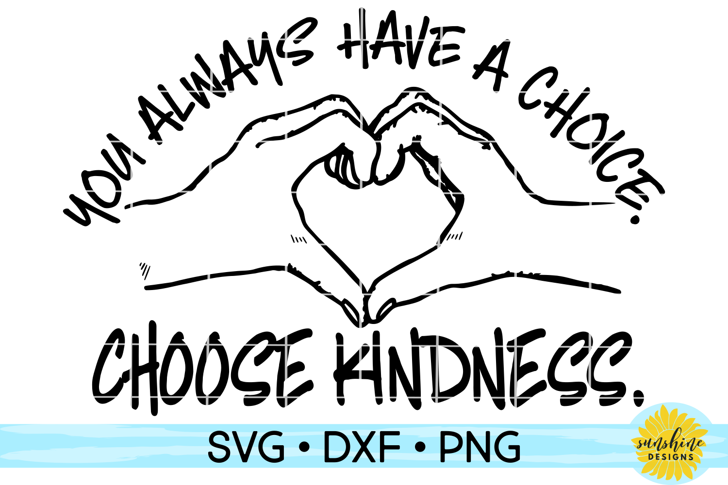 KINDNESS BUNDLE | ANTI-BULLYING | 15 DESIGNS | SVG DXF PNG example image 11