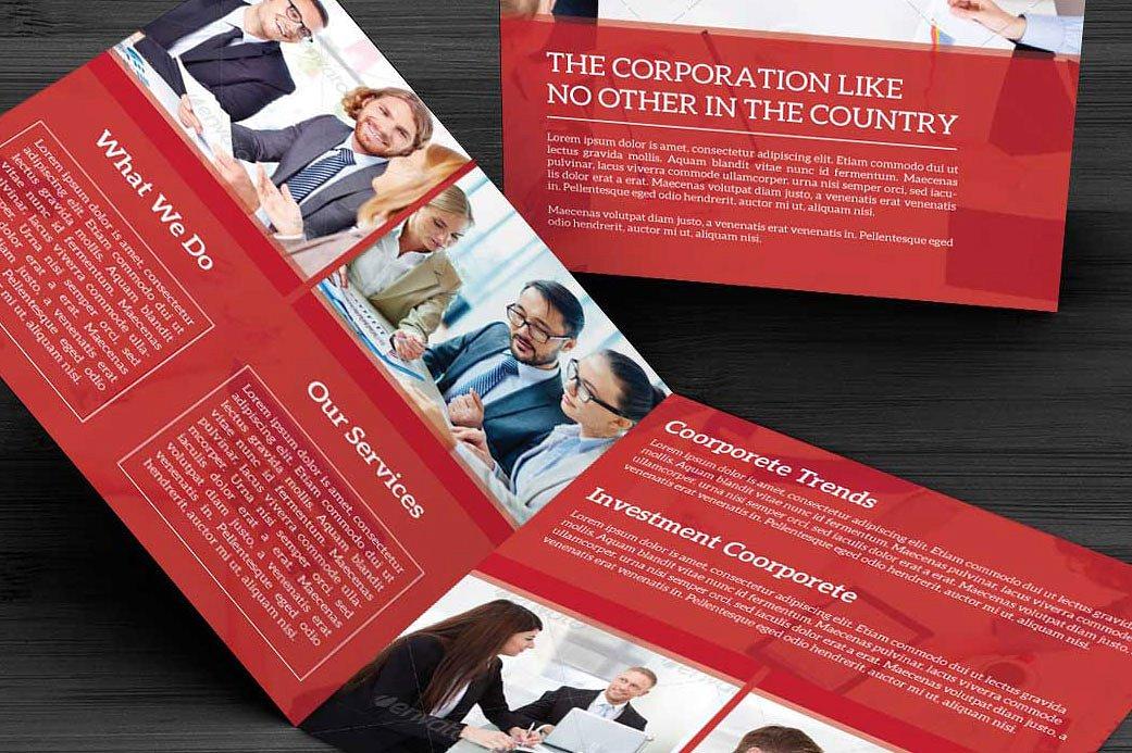 Bifold Corporate Brochure example image 5
