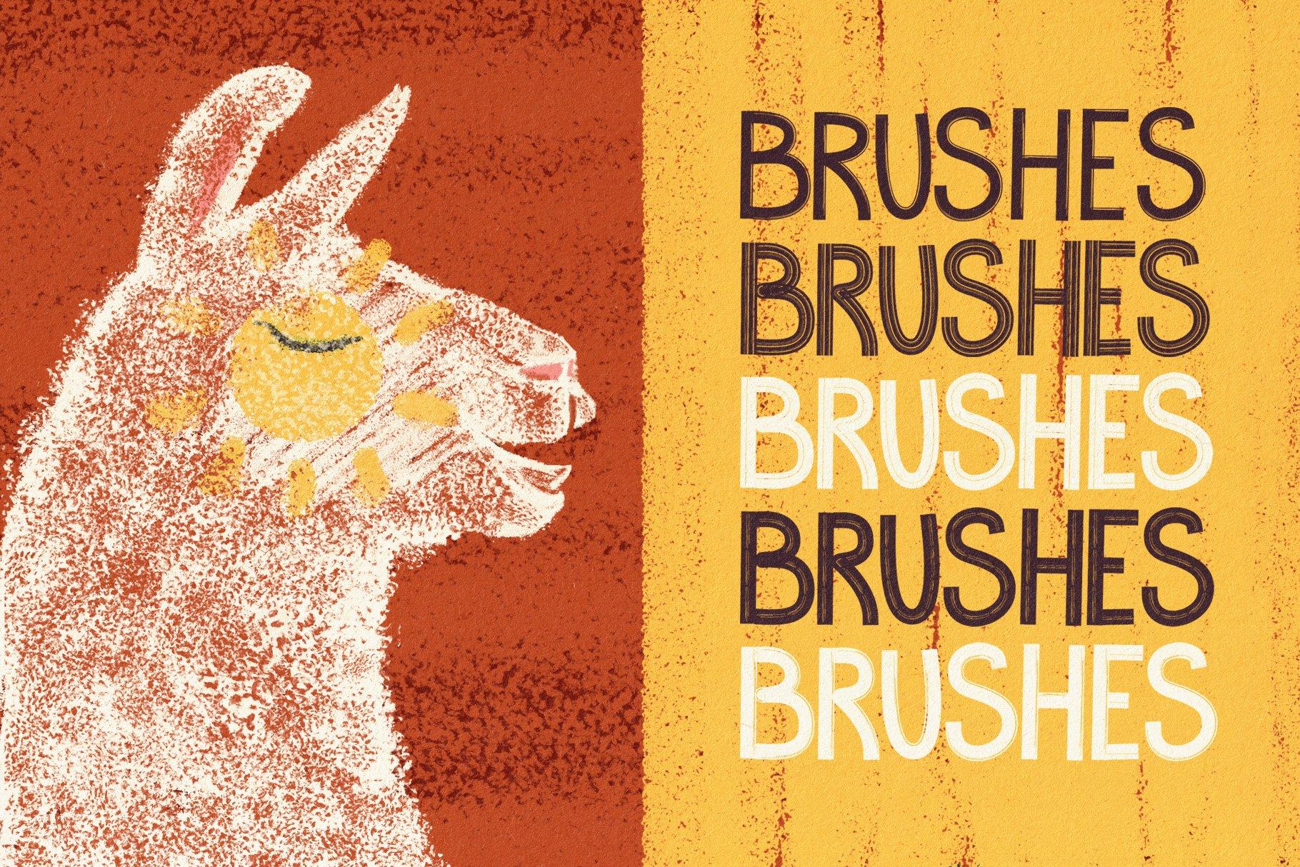 Hand Drawn Brushes for Affinity Designer example image 8