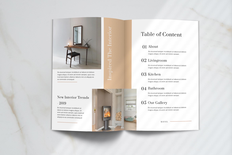 Mavel - Interior Magazine Template example image 2