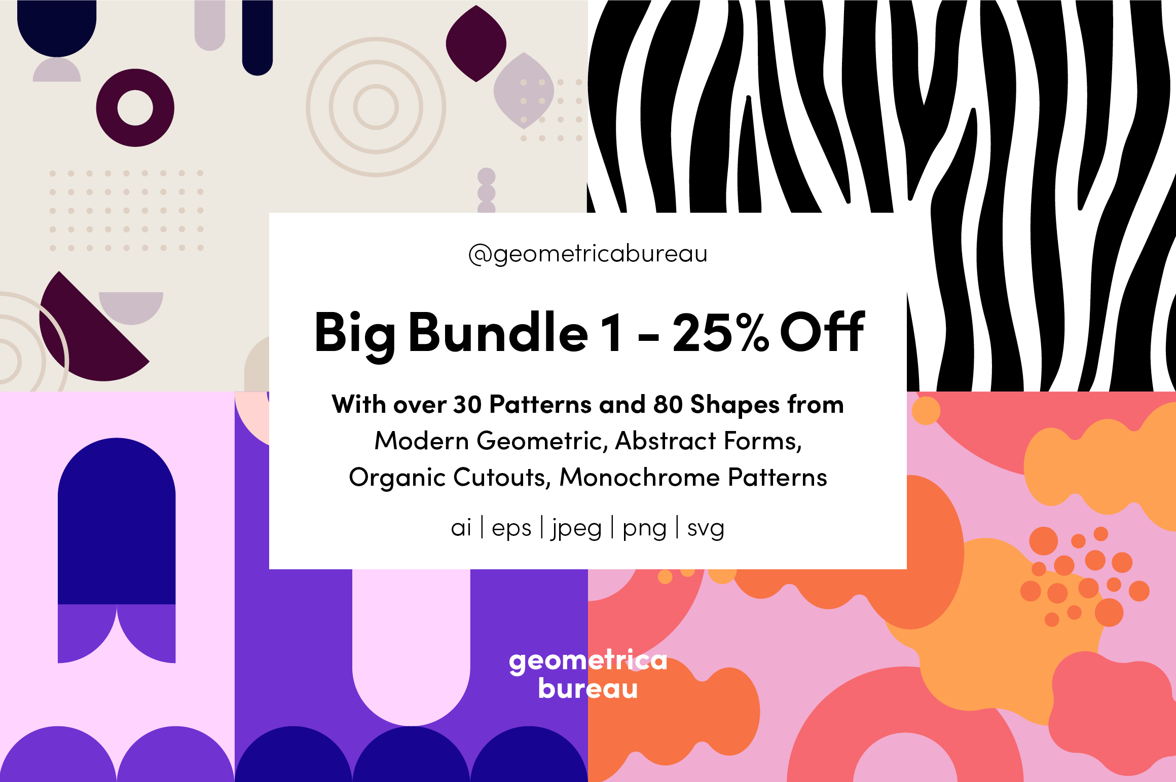 Geometrica Bureau - Big Bundle Vol 1 example image 1