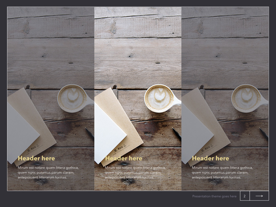 Latte Keynote Template example image 7