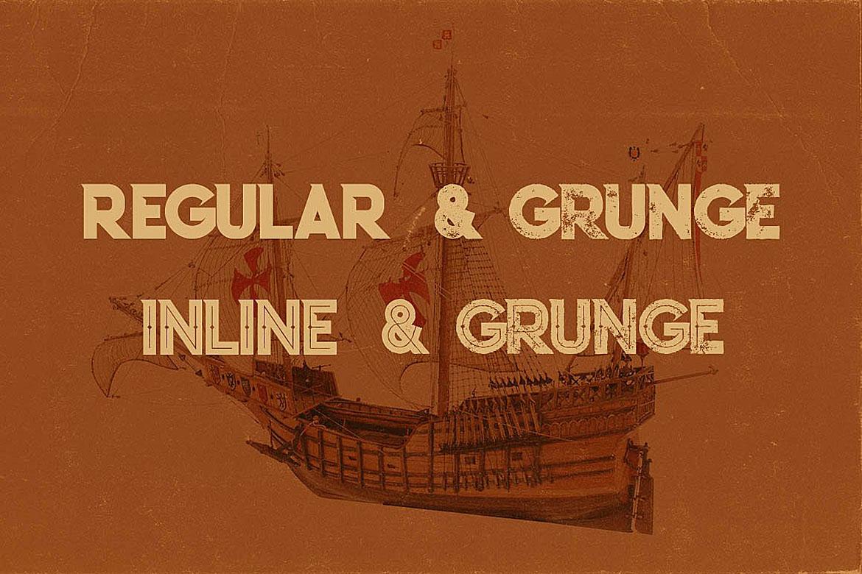 Columbus Typeface example image 2