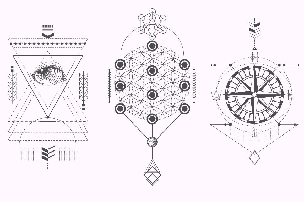 Sacred Geometry. Magic totem vol.2 example image 7