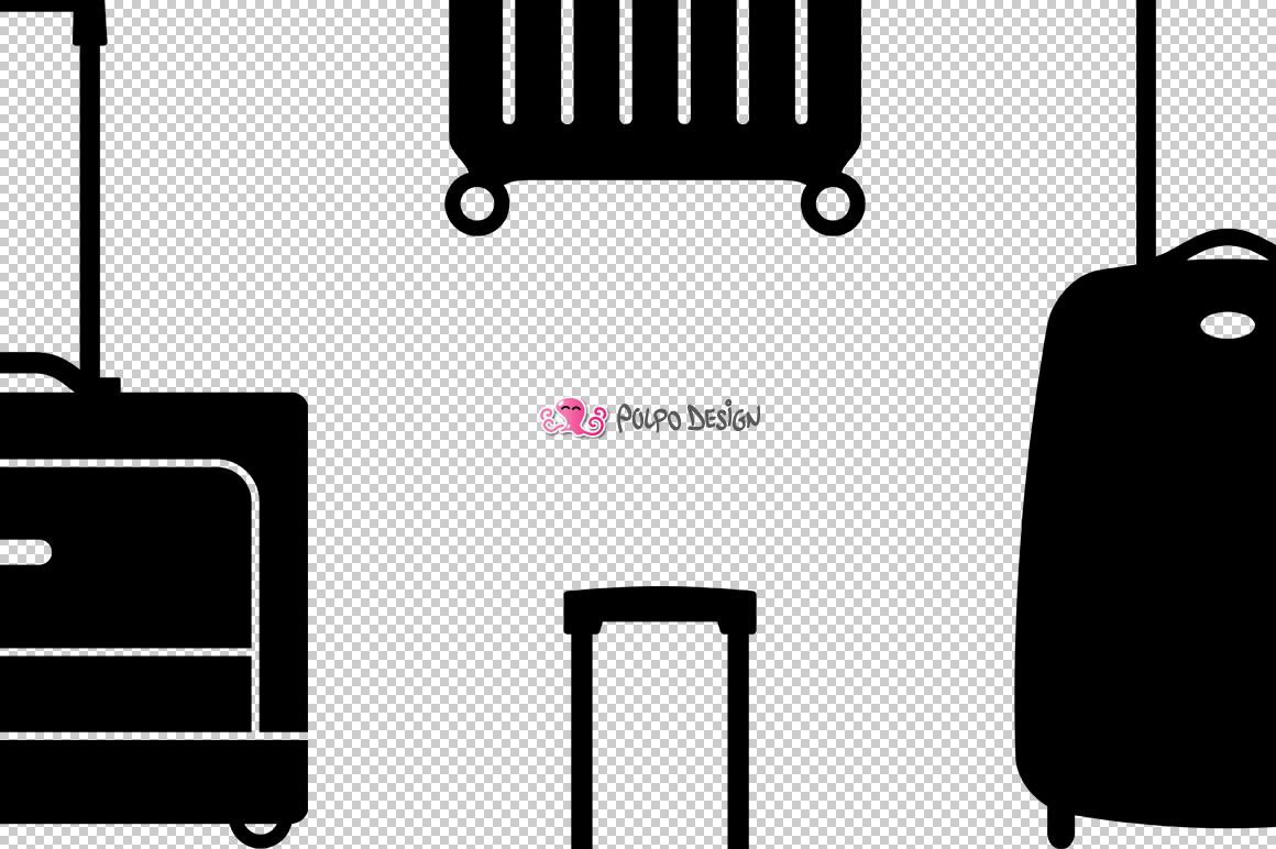 Luggage SVG example image 3