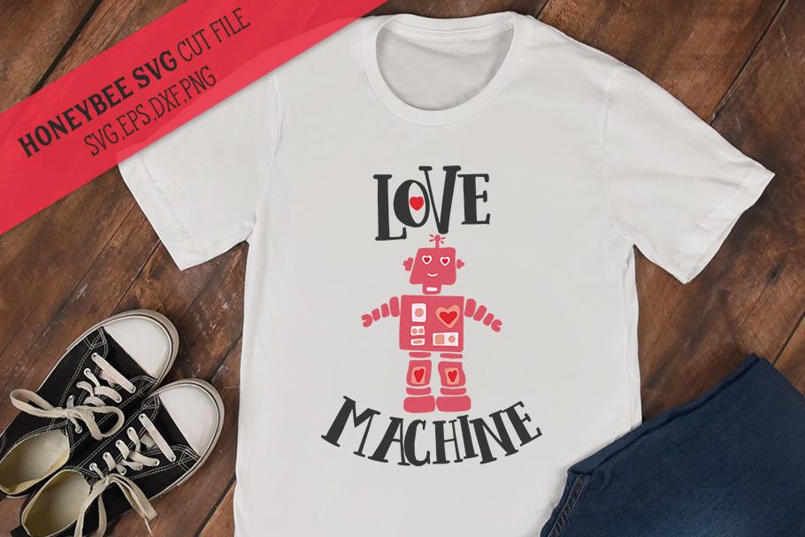 Love Machine SVG Cut File example image 1