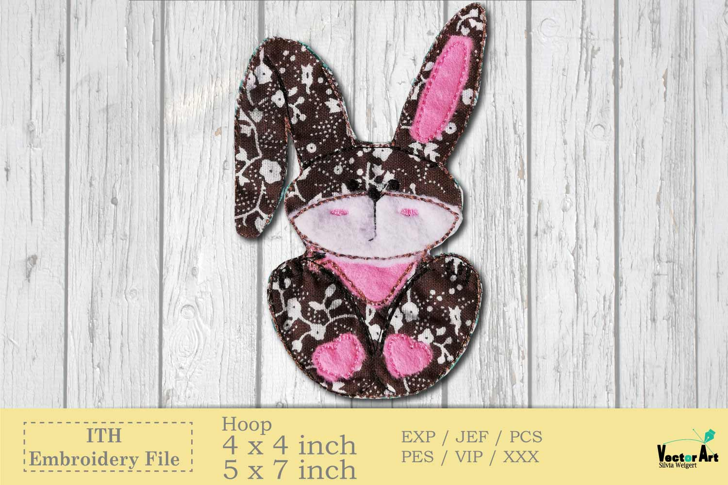 ITH Easter Bundle - Machine Embroidery Files - 10 Projects example image 4