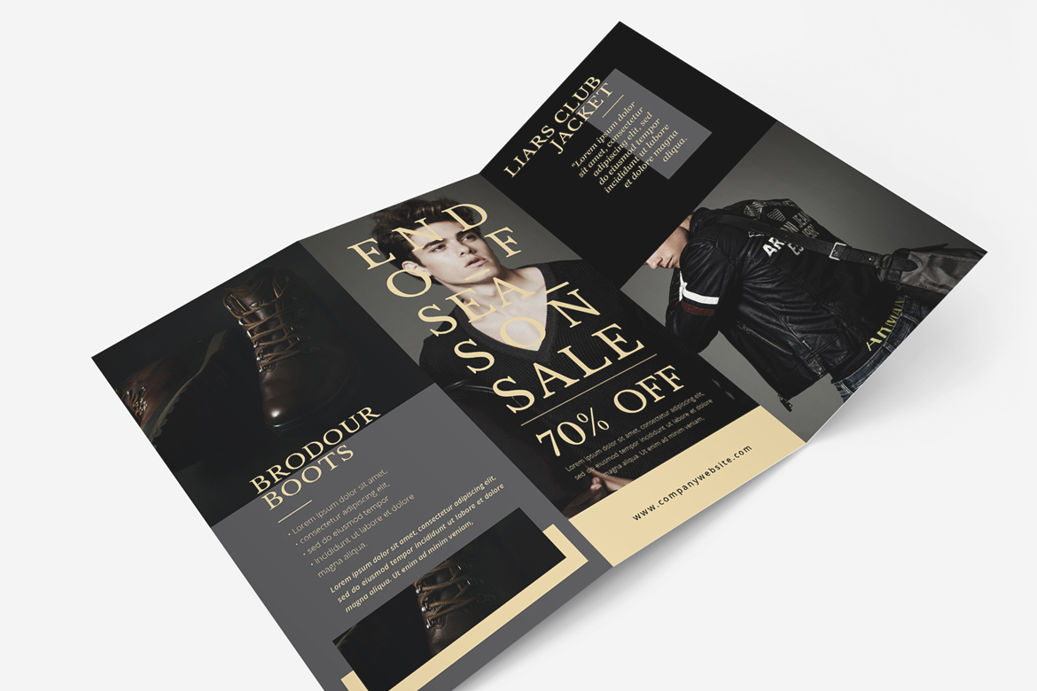 Fashion Trifold Brochure example image 3