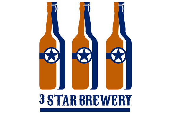 Beer Bottles Star Brewery Retro example image 1