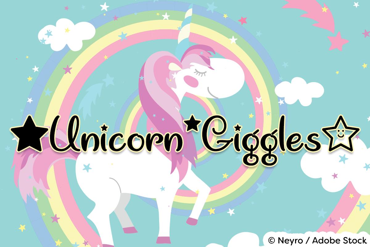 Unicorn Giggles example image 1