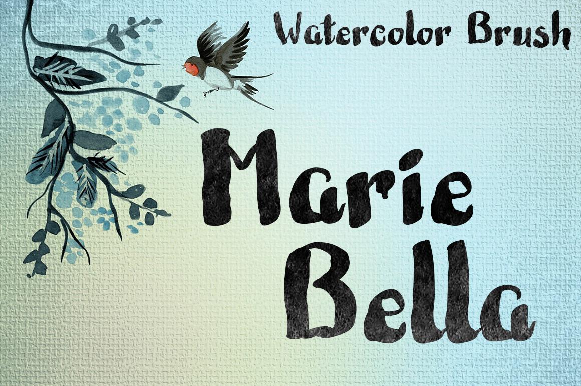 Marie Bella Brush Font example image 1