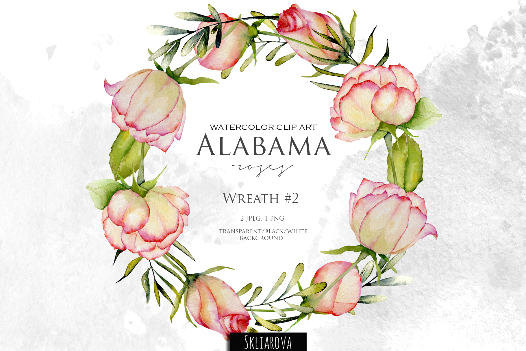 Alabama roses. Wreath #2 example image 1