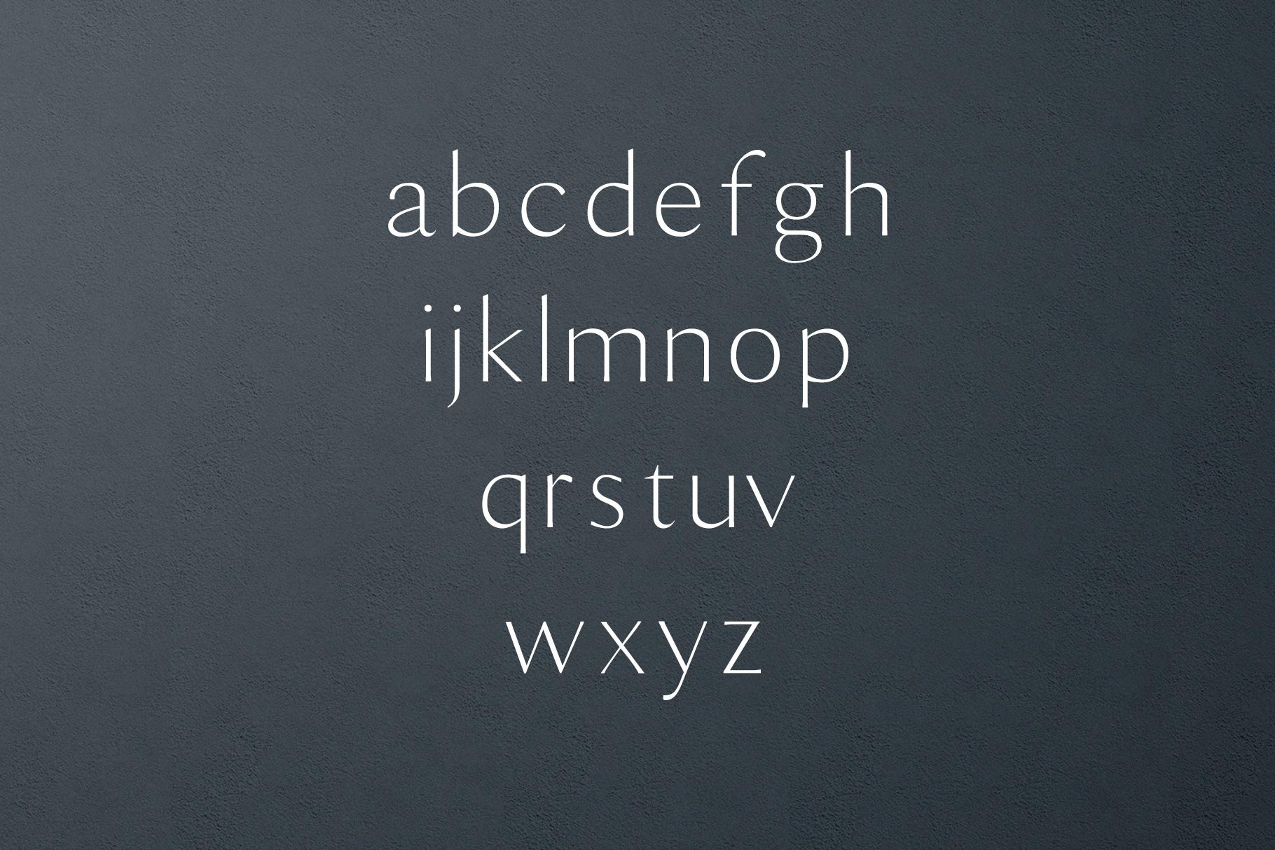 Maleah Sans Serif 2 Font Family Pack example image 3