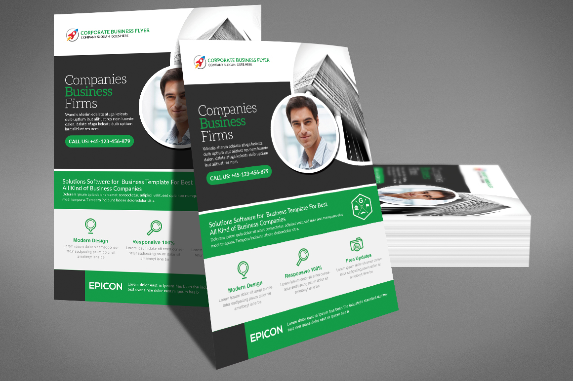 Venture Capital Flyer example image 4