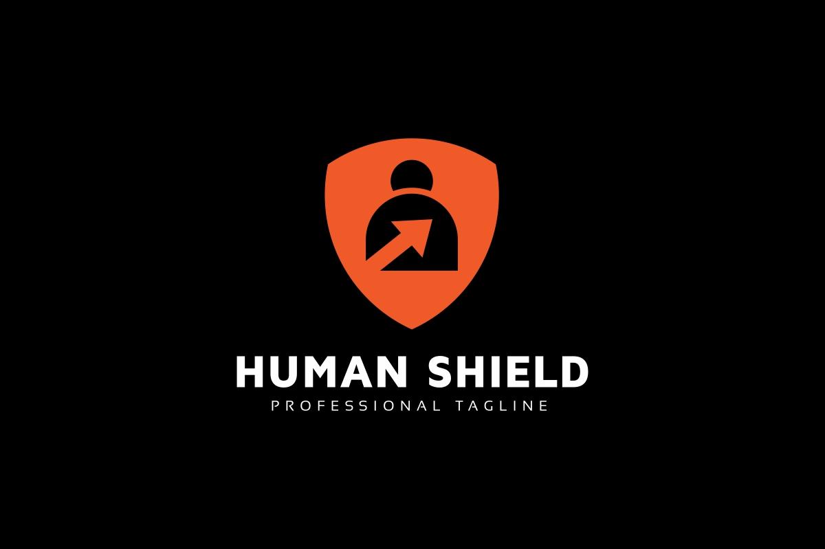 Human Shield Logo example image 2