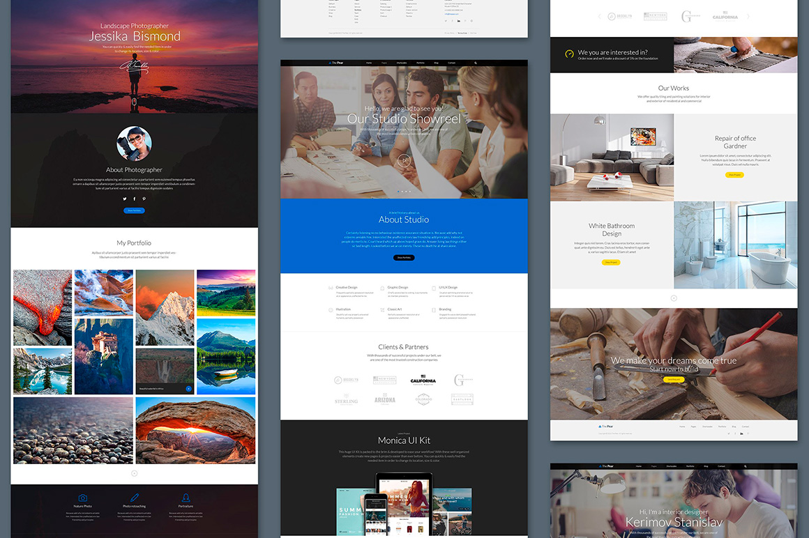 The Pear Starter Web UI Kit example image 4