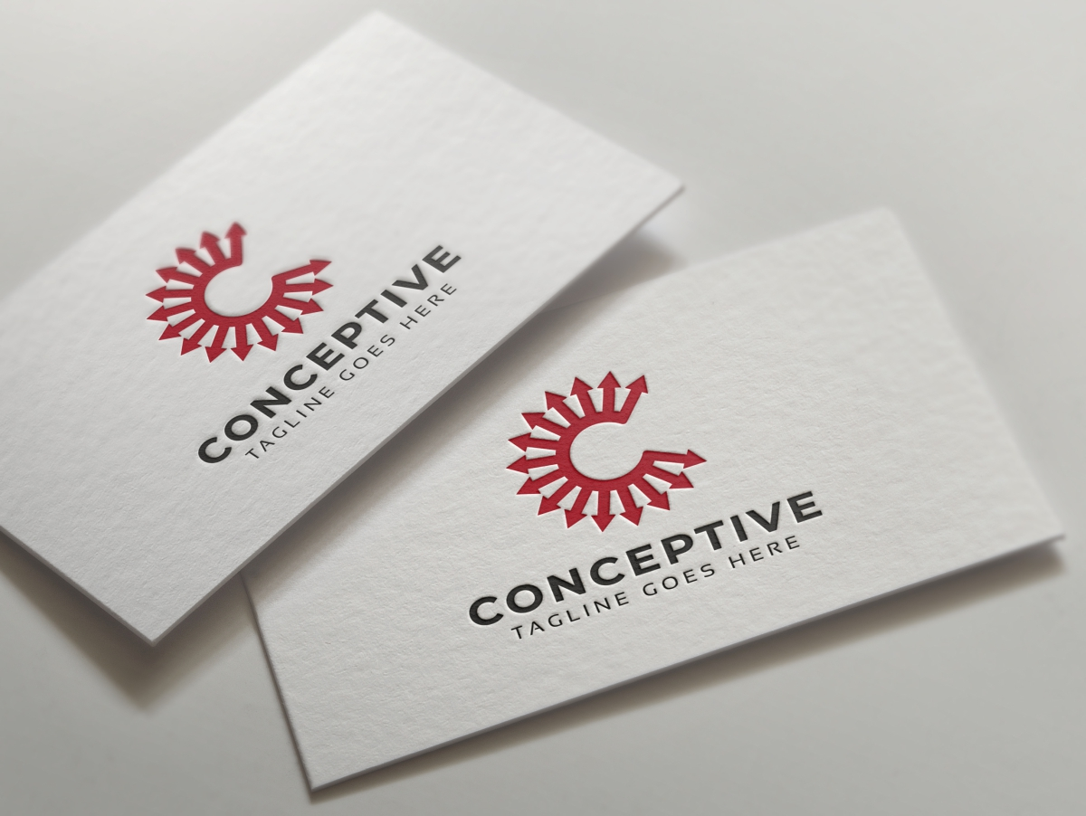 Conceptive C Letter Logo example image 4