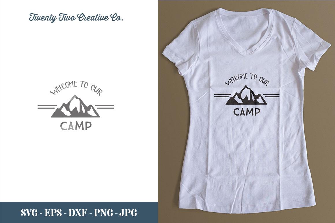 Camping SVG Bundle   SVG, EPS, PNG, JPG example image 28