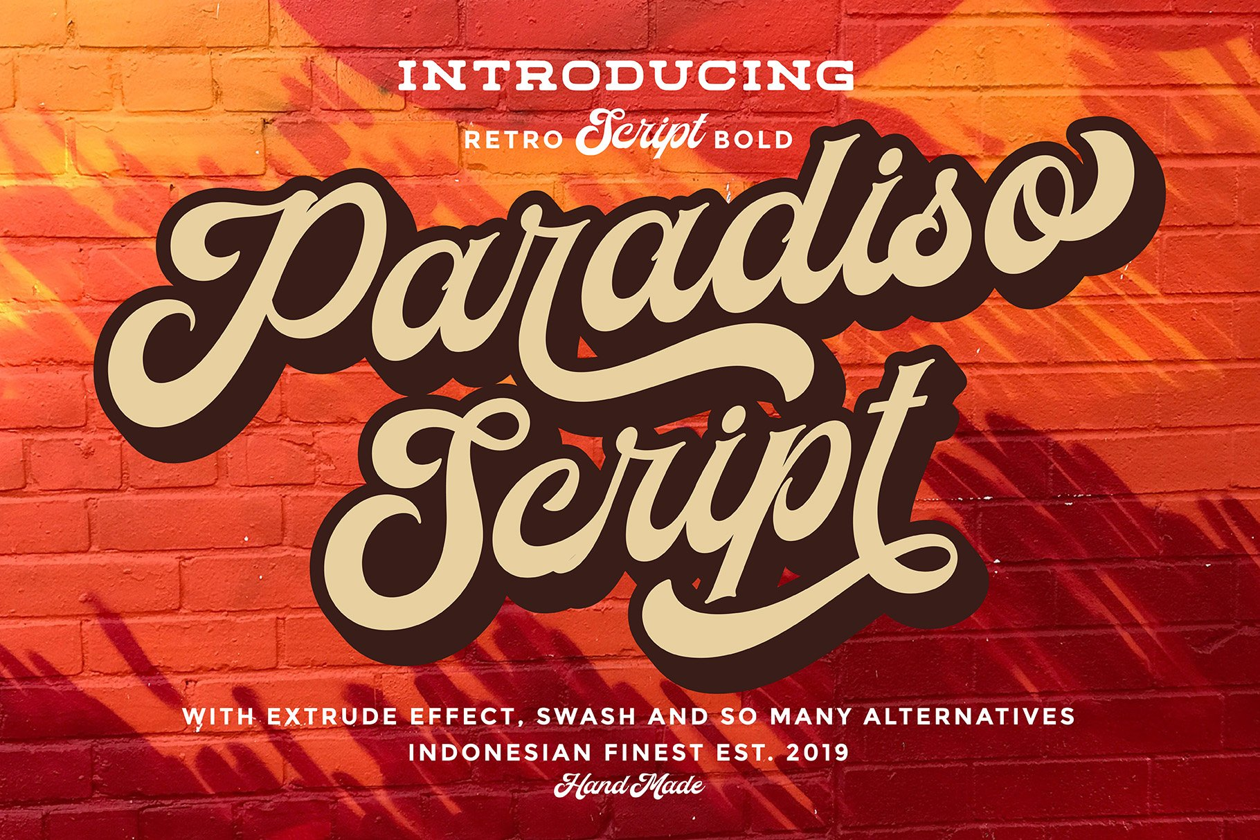 Paradiso Script example image 1