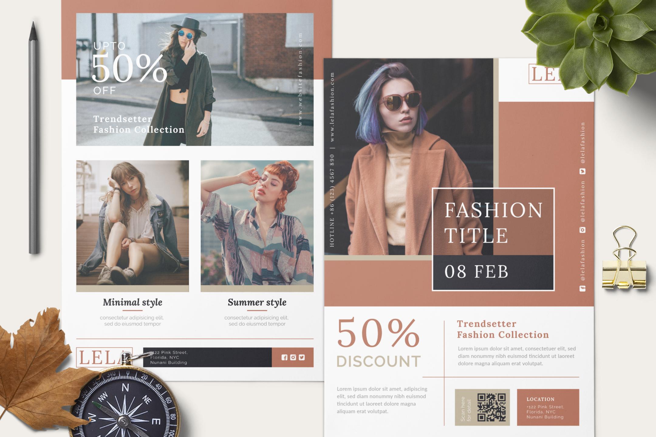Fashion flyer example image 11