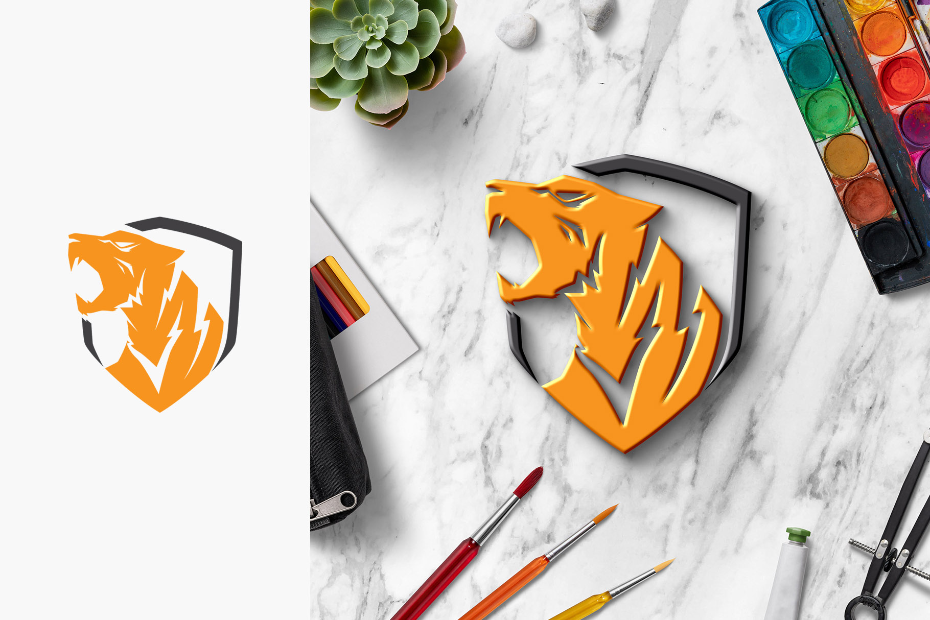 All-In-One Logo Mockup Creator example image 30