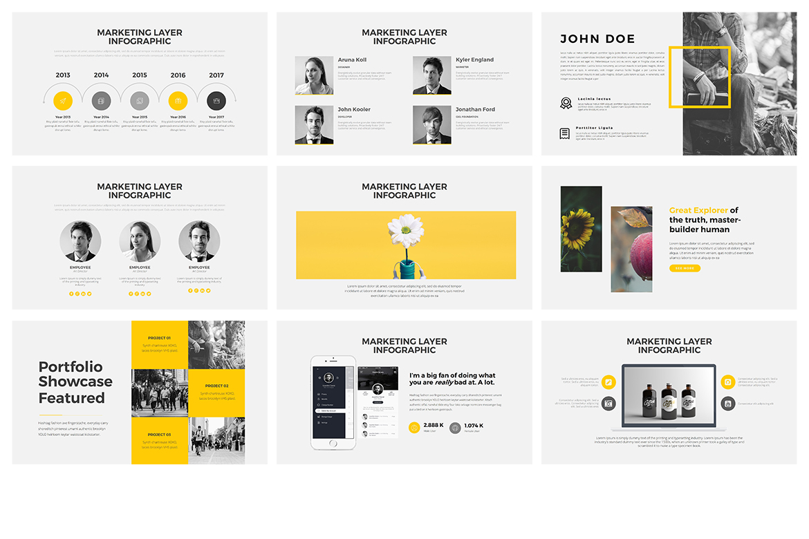 Munch Keynote Template example image 3