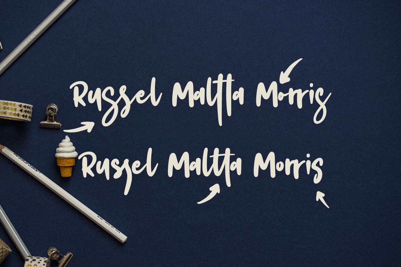 Foltta Typeface example image 9