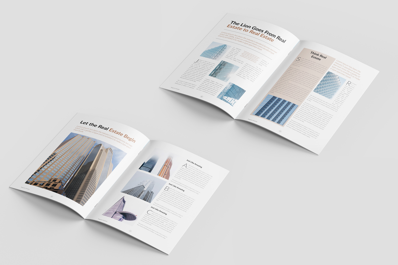 Real Estate Minimal Magazine Template example image 8