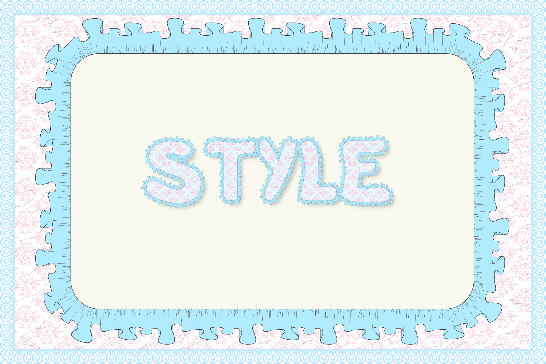 12 Shabby Chic Adobe Illustrator Graphic Styles example image 8