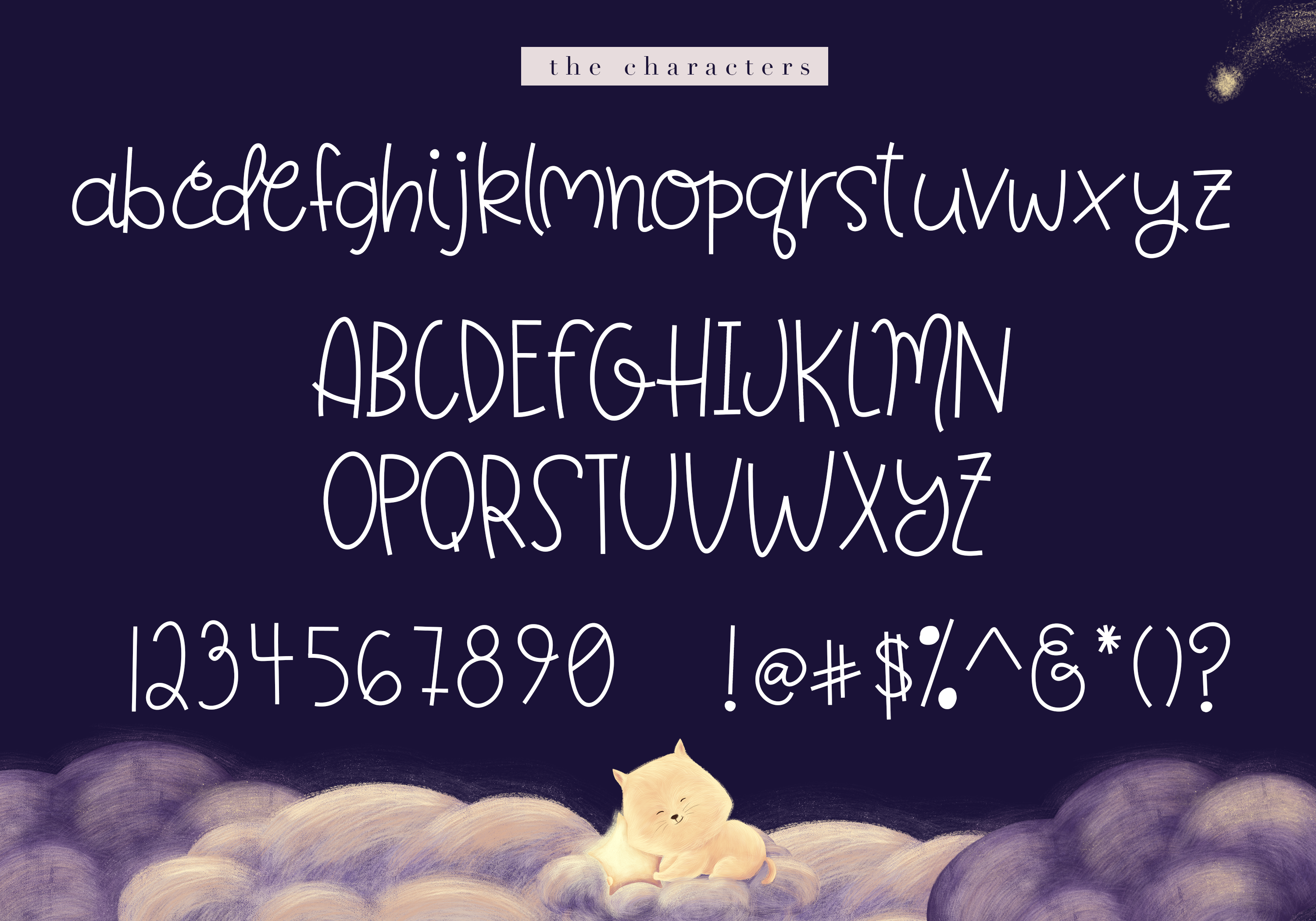 Fairytale - A Cute Handwritten Font example image 9