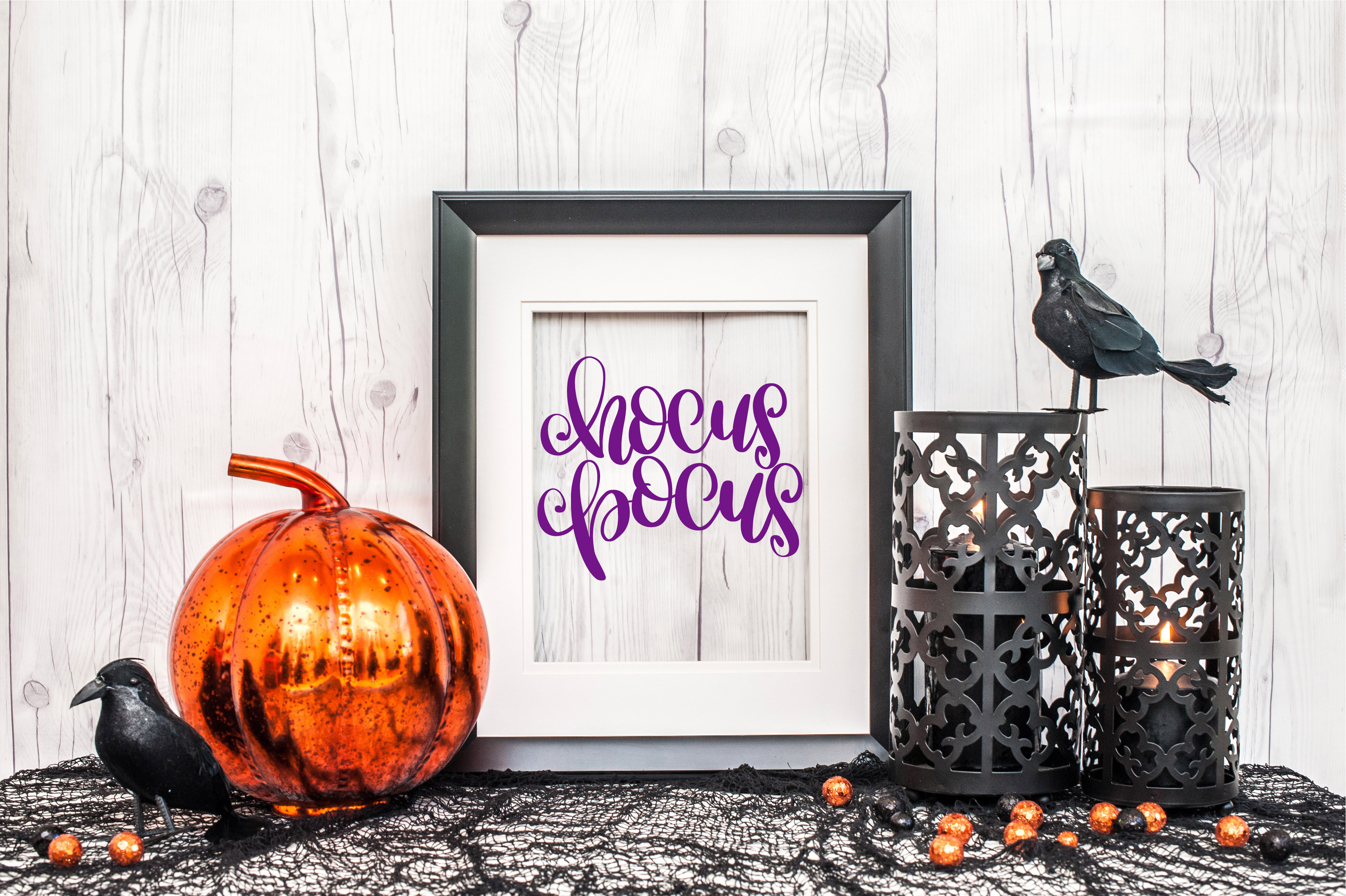 Hocus Pocus - Hand Lettered SVG example image 1