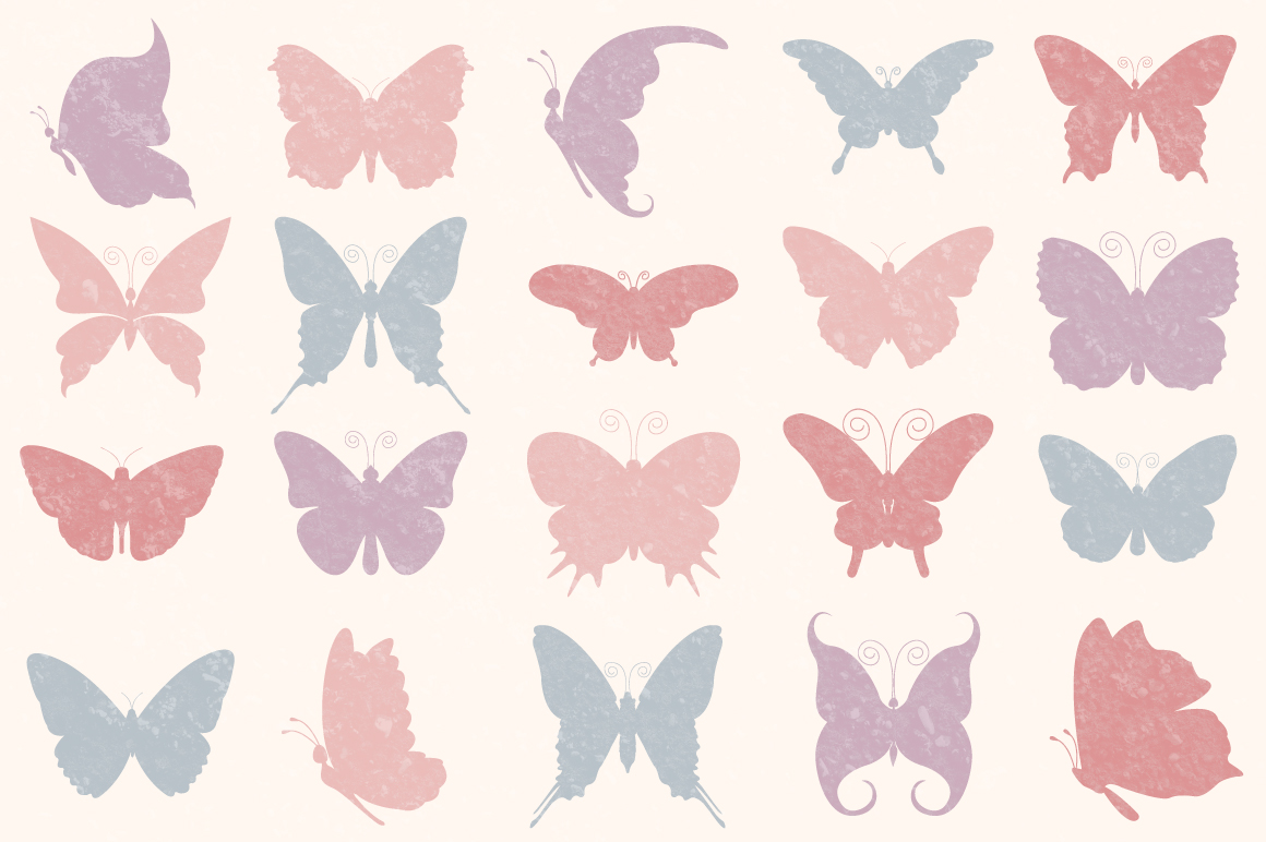 Butterfly SVG, Butterfly Monogram SVG Cut Files Bundle example image 6