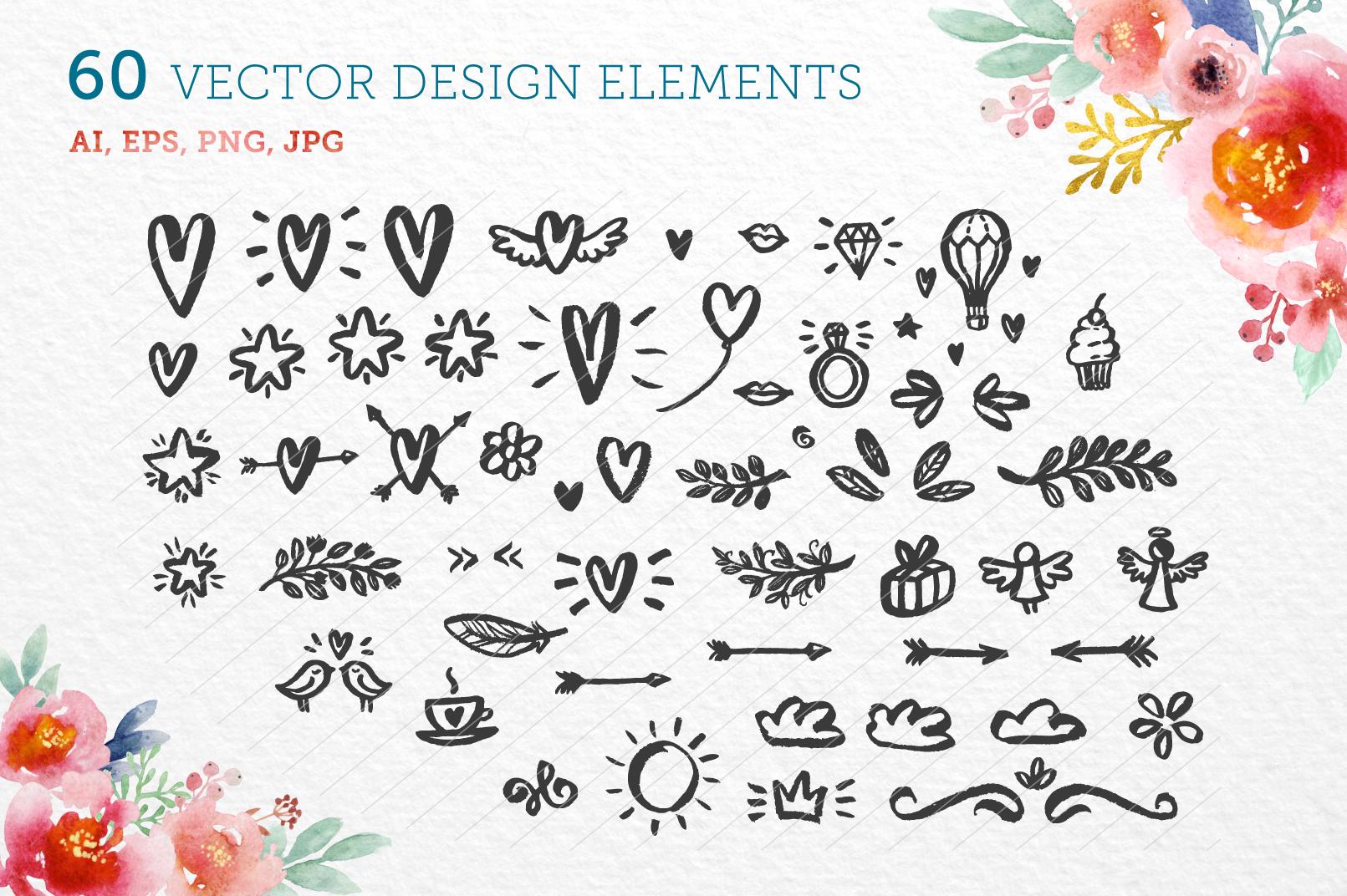 60 vector design elements example image 1
