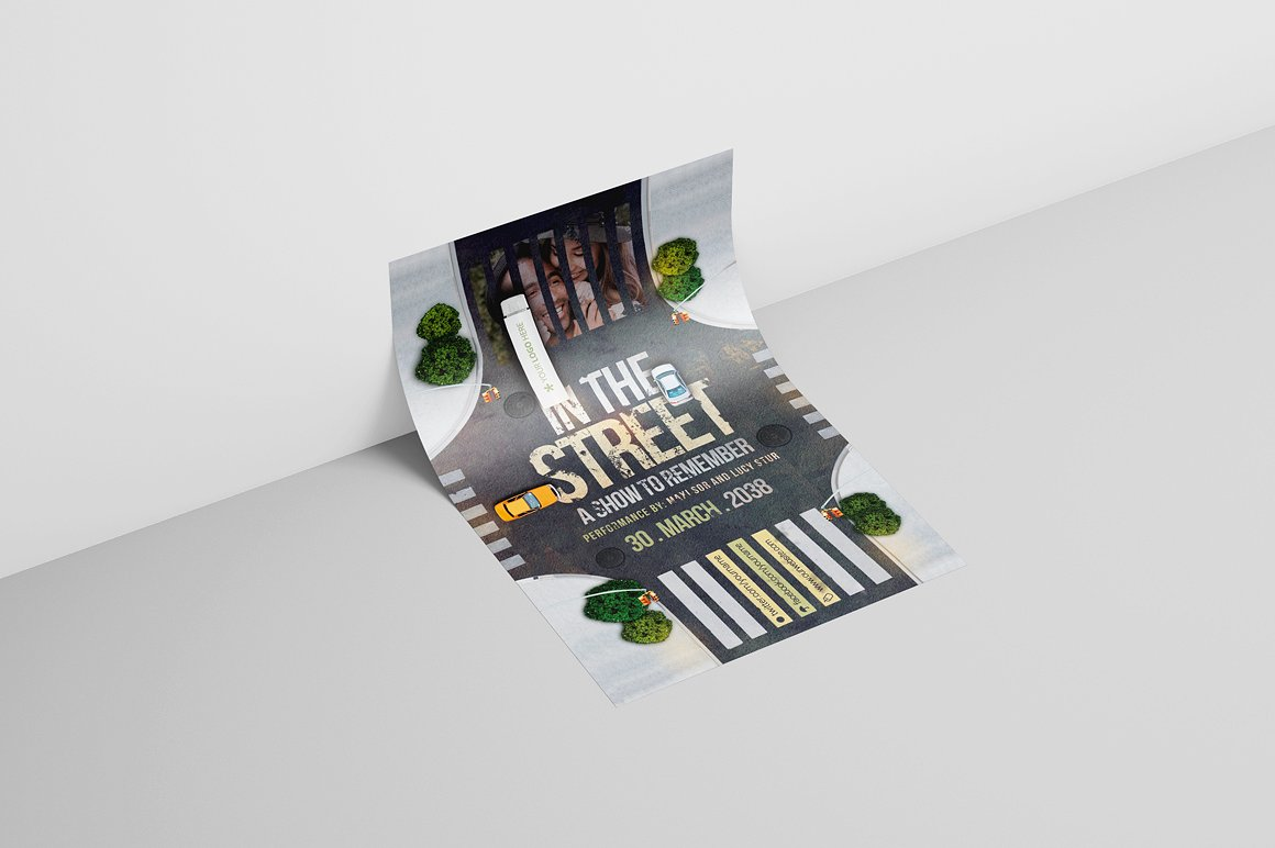 In The Street Flyer Template example image 2
