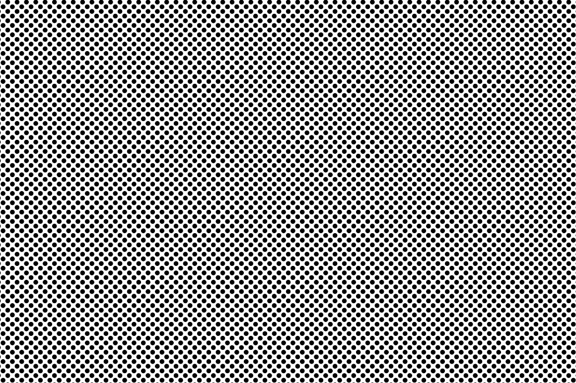 Set of dotted seamless patterns. example image 15