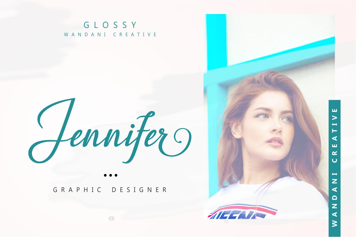 Glossy Font example image 10