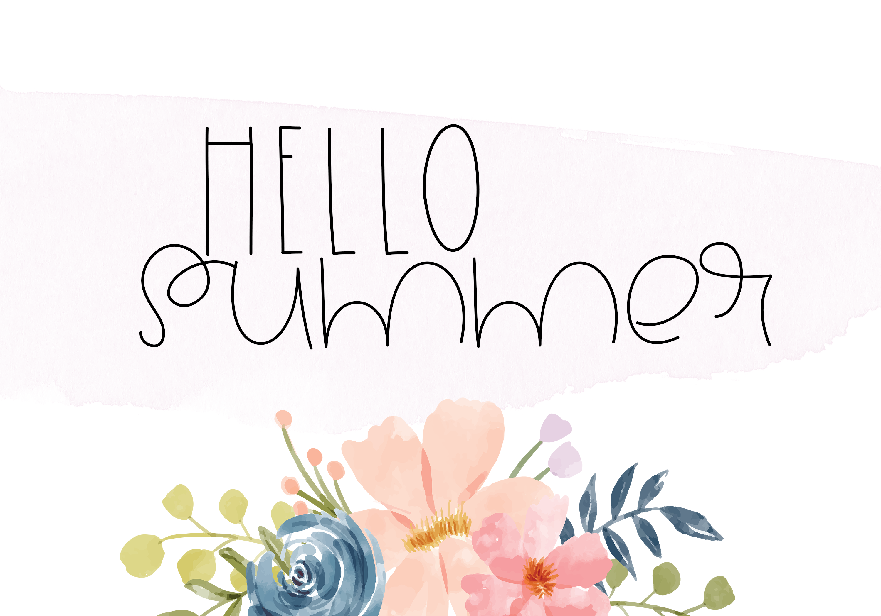 Summertime - A Cute Handwritten Font example image 8