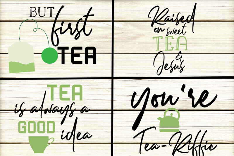Tea Quotes Bundle example image 2