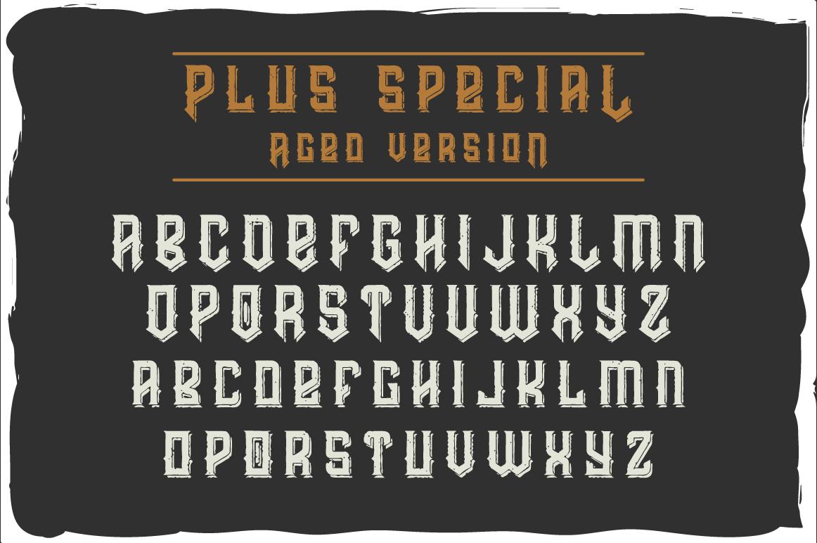 Prohibited typeface example image 5