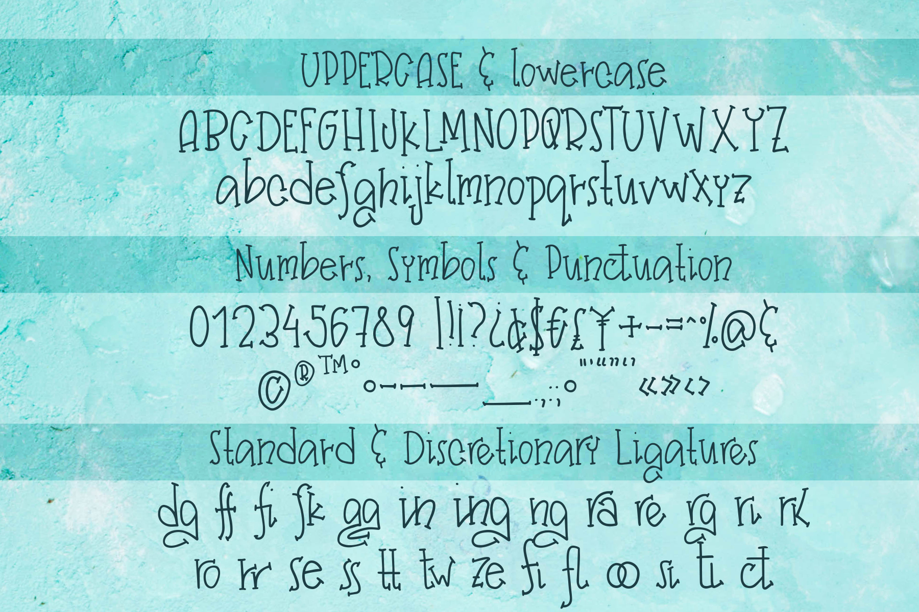 Frozen Margarita - a Quirky Handwritten Font example image 4