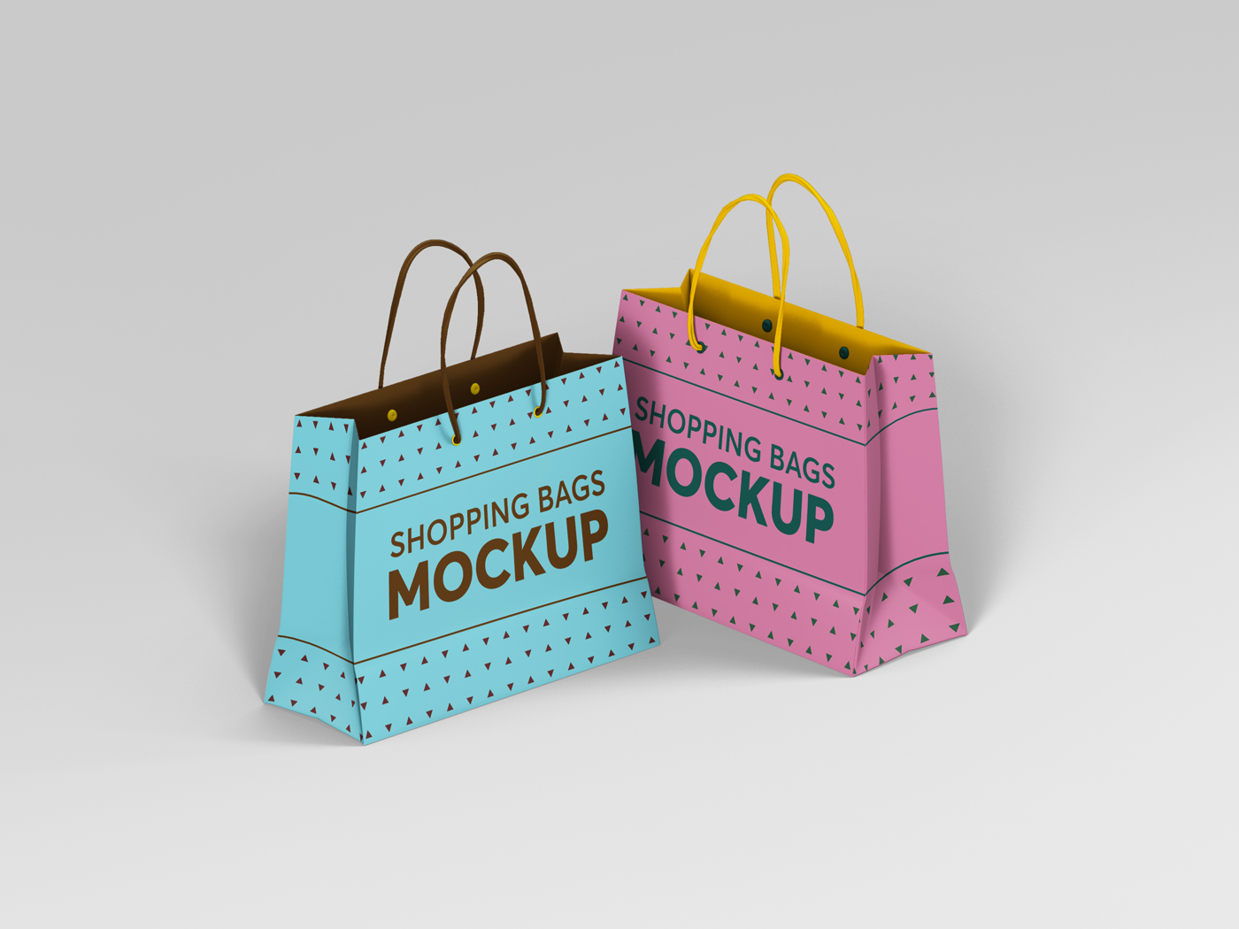 Shopping Bag Mockups V2 example image 11