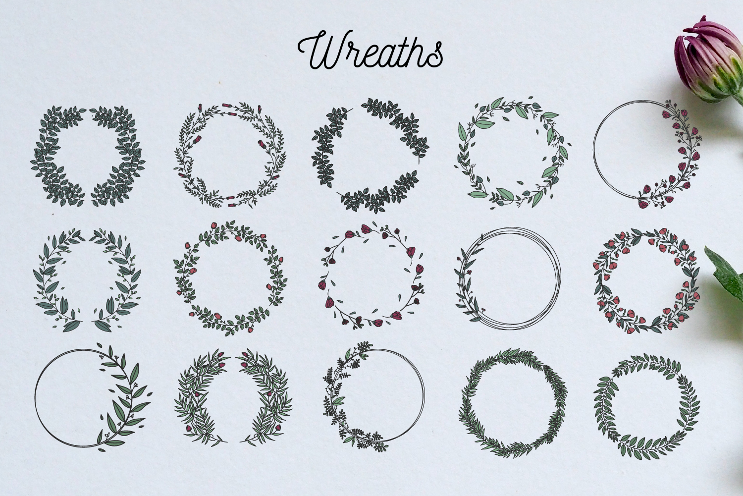 Wreath collection example image 6