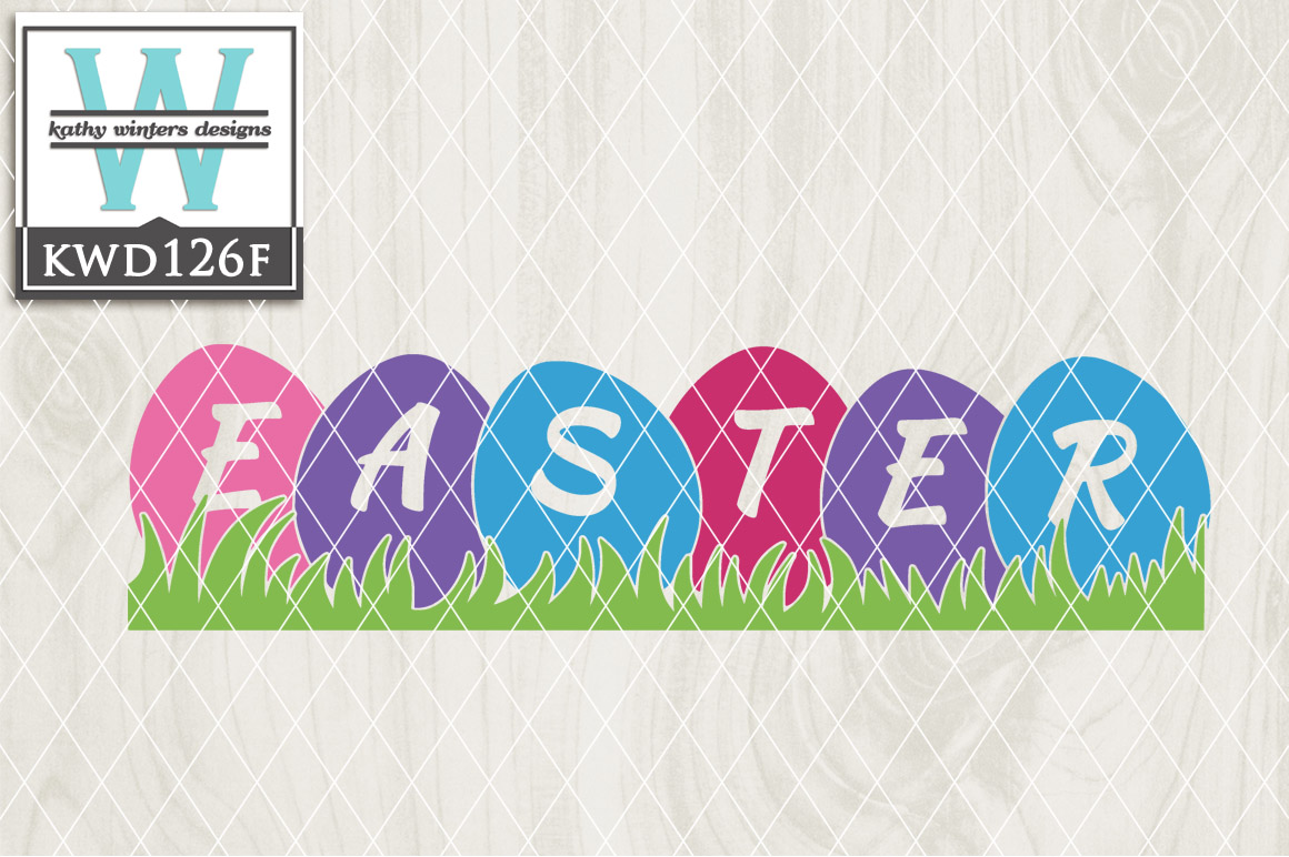 Easter Cutting File KWD126F example image 1