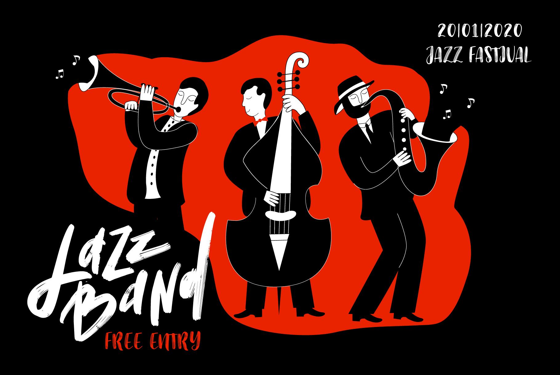 Modern jazz band example image 5