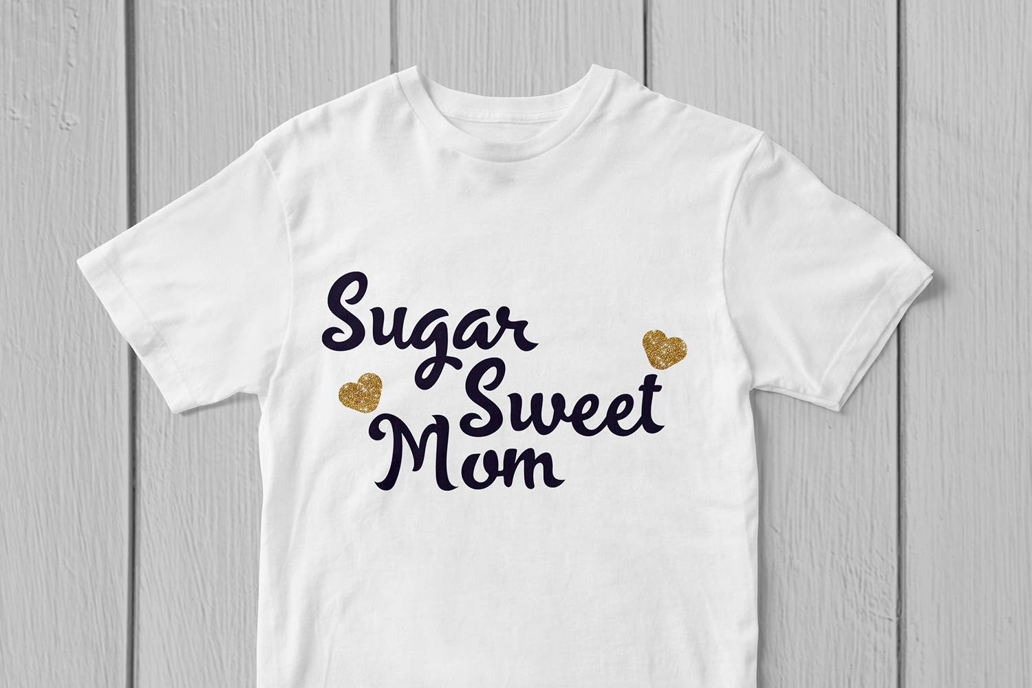Sugar Sweet Mom - Mother SVG EPS DXF PNG Cutting Files example image 3